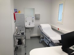 Lääkärin vastaanottohuone