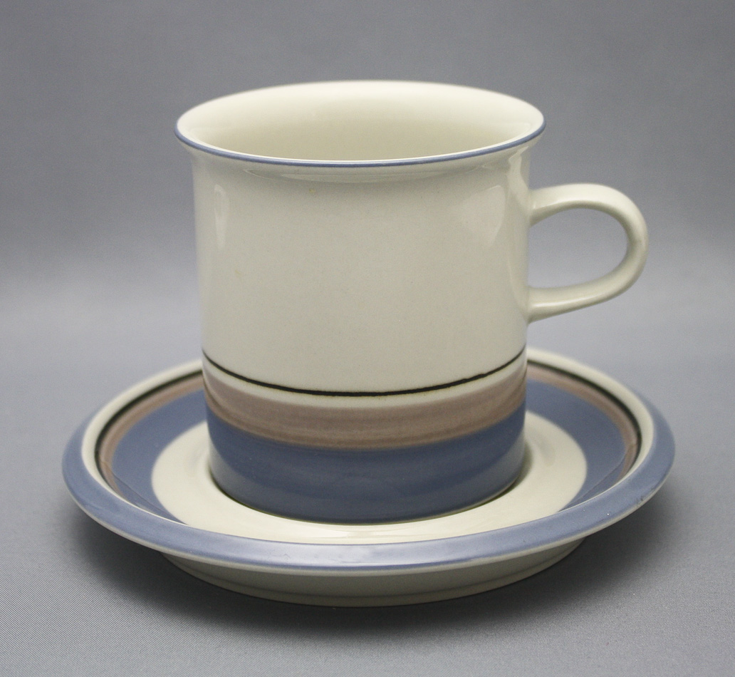 Uhtua Arabia Finland Arabia coffee pot and vintage milk pot
