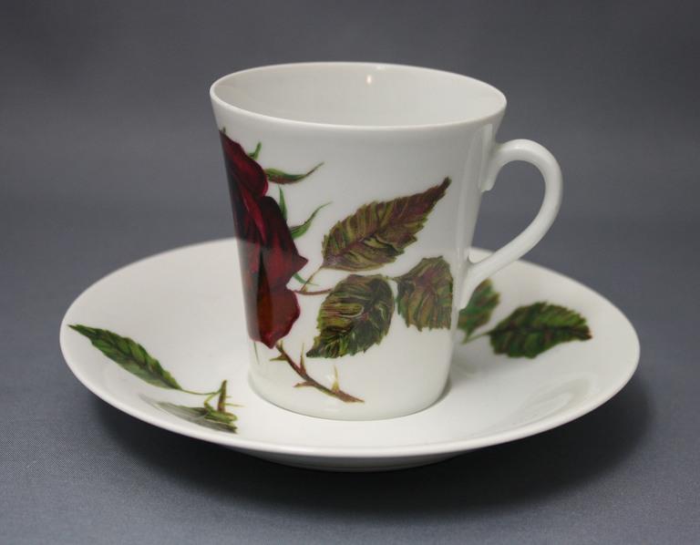 Arabia ruusu kahvikuppi