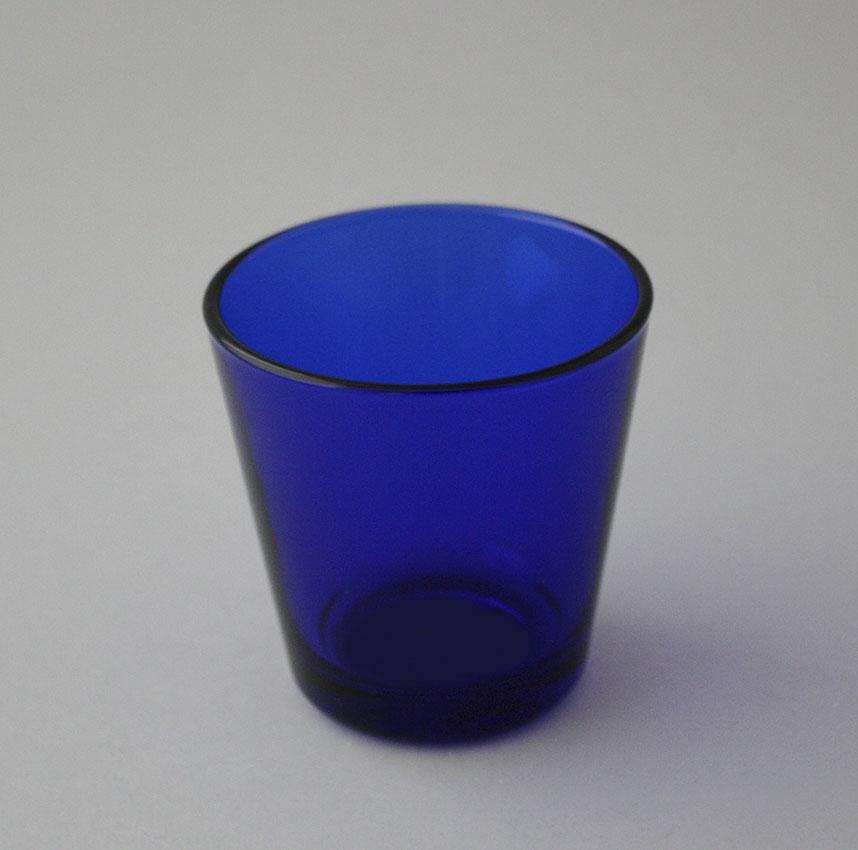 Kartio lasi sininen