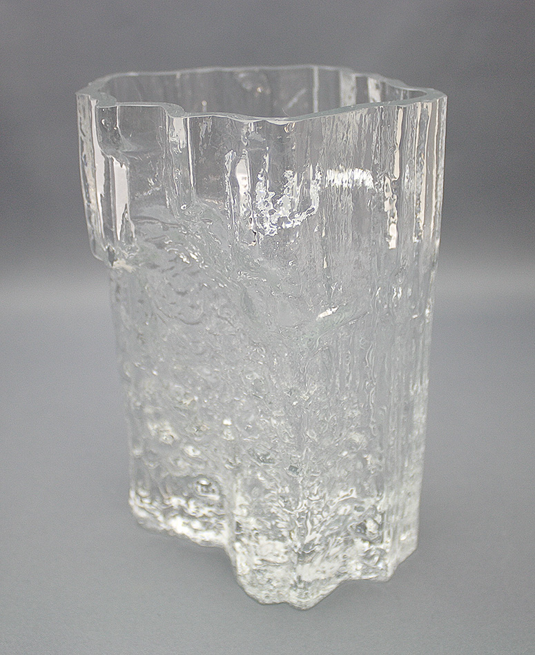 Glass Vase Pinus Tapio Wirkkala Shopping Place For Friends Of Old Antique Dishware