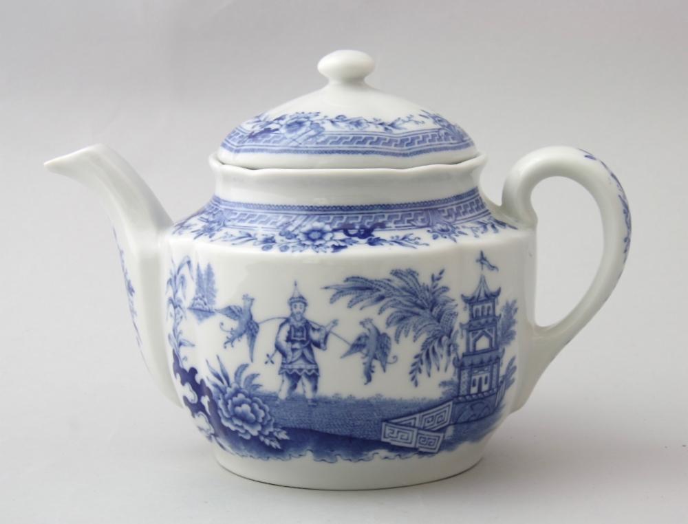 Arabia, teekannu,Sininen Singapore | Astiataivas.fi - Vanhojen astioiden ystävien löytöpaikka