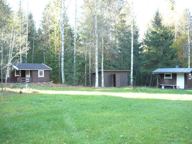 Lohja 2 mokkia, sauna, 2 varastorakennusta, hp 77t.