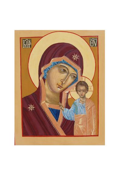 Kazanin jumalan äiti