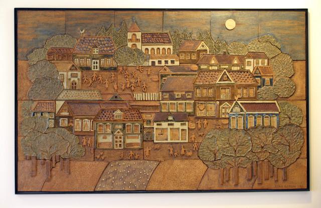 Hyvä kaupunki, valokuva Salon Taidemuseo