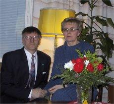 35 vuotta aviossa