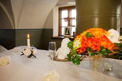 morsiusparinpöytä