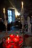 Kynttilät pöydässä
