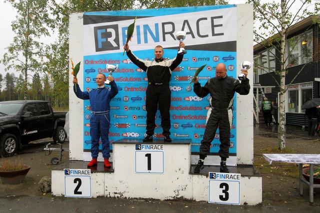 FINRace motopark 1.Tuomas Halonen 2 Paul Björkbom 3. Jouni Kuivala