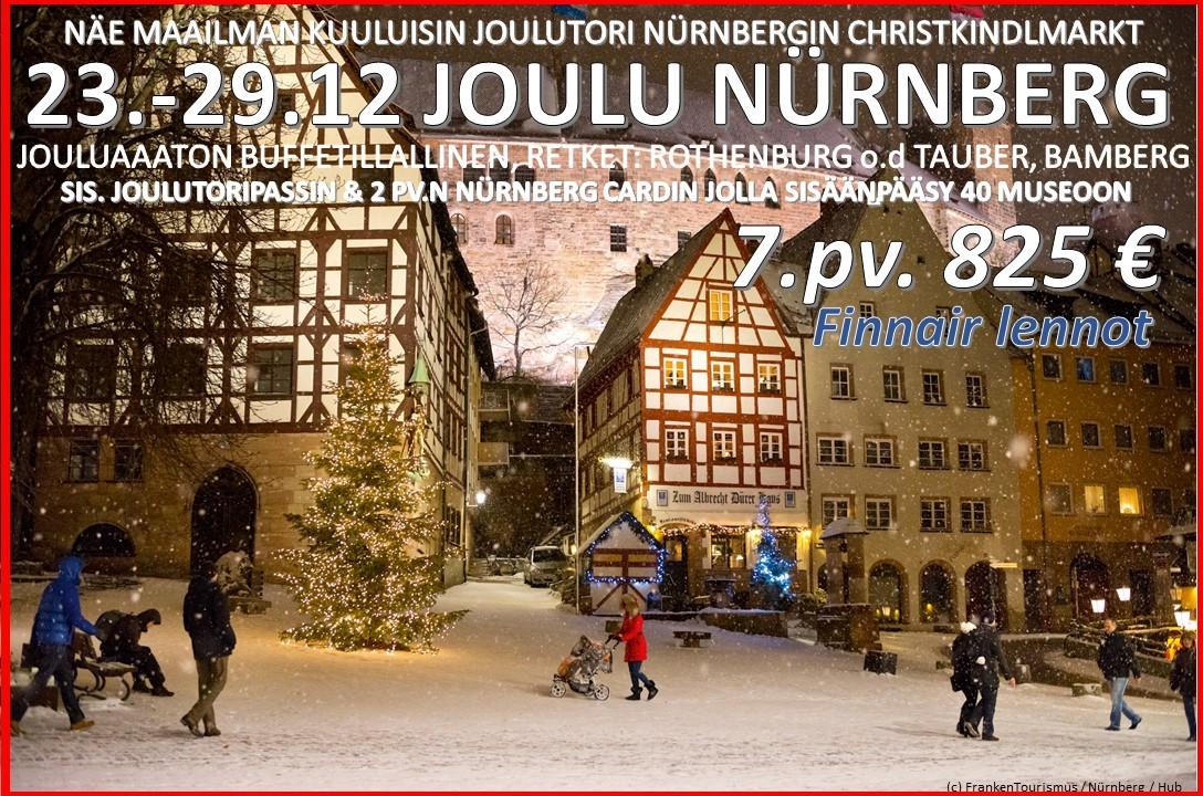 joulu 2018 vapaat 23. 29.12 Nürnberg Joulumatka | Blitz Tours Oy joulu 2018 vapaat