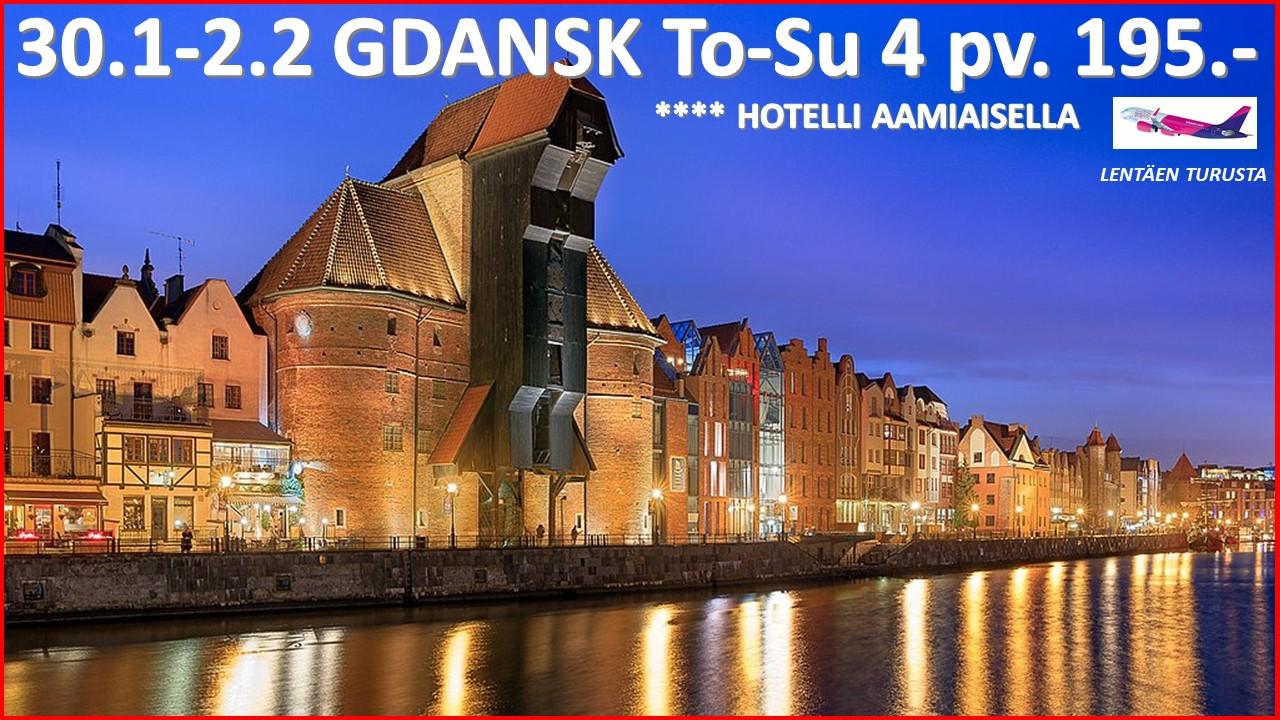 Lennot Gdansk Turku