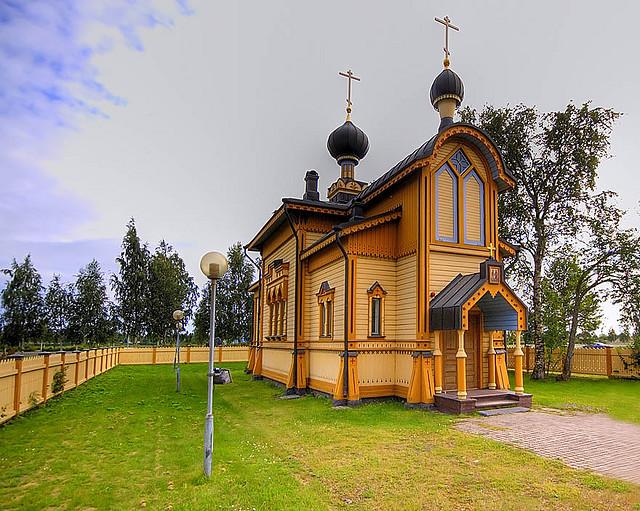 Orthodox church of Tornio