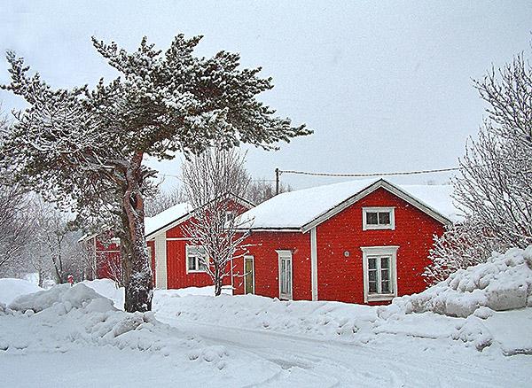 Iin Haminan punaiset talot