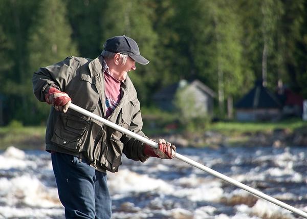 fisherman Kukkolankoski