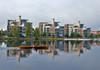 Kasarminrannan taloja Oulussa
