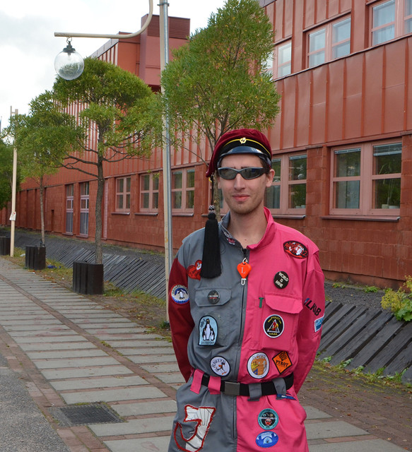 Student vid Luleå tekniska universitet