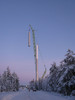 Tuulimyllyn pystystä Simossa