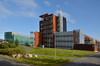 Nortal ja Oulun ammattikorkeakoulun rakennus