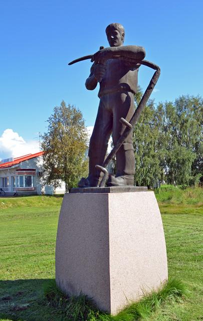 Niittäjä-patsas