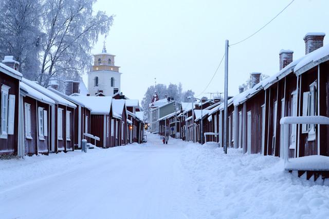 Winterpic of Gammelstad