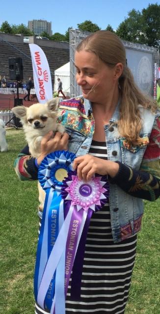 Inge Estonian Junior Winner and Estonian Winner