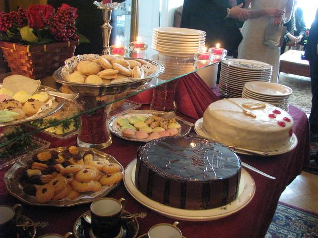 Rippijuhlien buffet