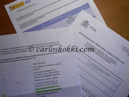 Suomalaisen ajokortin vaihto Espanjalaiseen ajokorttiin   Carloskokki.com