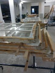 Uudet lasituskittaukset kuivumassa