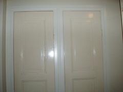 Kaappien ovet oli ennen eri väriset
