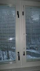 huolletut lukot ja uudet tiivisteet helpottavat huomattavasti ikkunoiden avaamista ja ne ovat kevyet