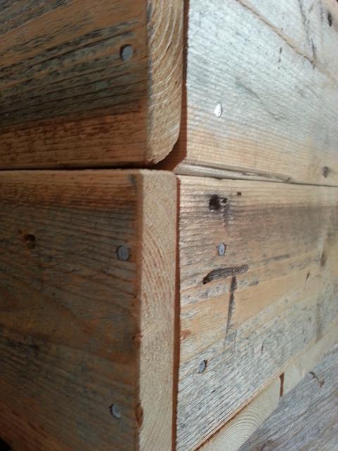 OldBond- vanhasta laudasta tehdyt laatikot
