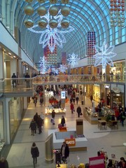 Shopping centre boulevard opening 12-2013