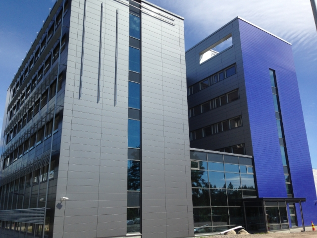 New office of 6.300 m2 in Vantaa 12-6-2015