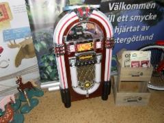 Vanha kunnon levyautomaatti