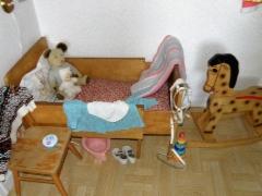Tuon aikakauden tyypillinen koti - Lastenhuone