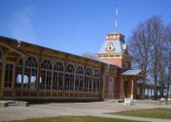Haapsalun kuuluisa rautatieasema