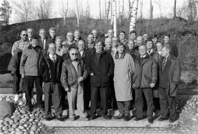 Concarit perustaminen 28.10.1995 ryhmäkuva