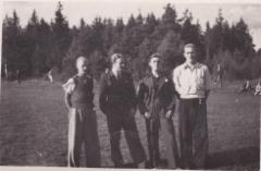 Pallokentällä 18.8.1946
