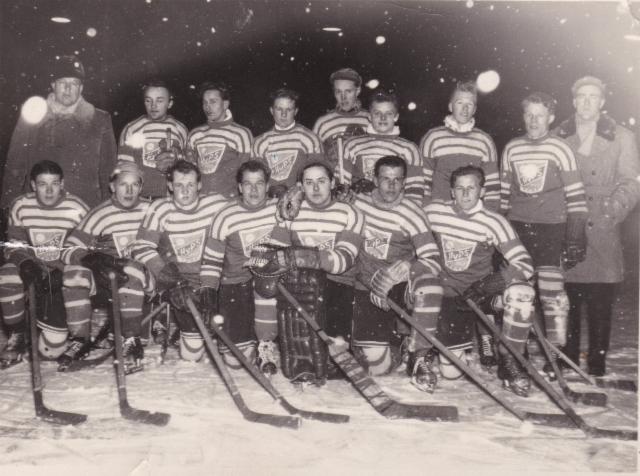 HyPS jääkiekon edustusjoulkkue 1954-55