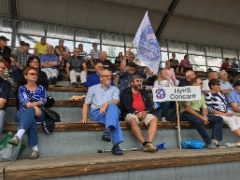 Kannustusjoukkue 18.08.2018 ottelussa HyPS-Atlantis FC, tulos 0-3