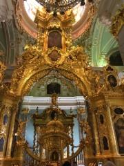 Kirkko Pietari-Paavalin linnoitusalueella