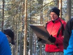 Ryhmän vetäjä Mauri Marjamäki