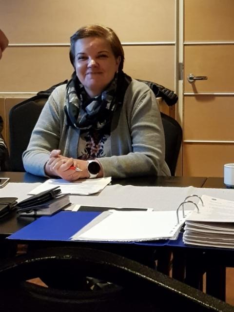 Concareiden uusi puheenjohtaja Minna Jossandt 3.3.2020
