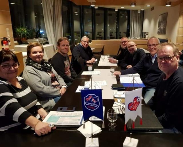 Concareiden hallitus 2021 ( kuvasta puuttuu Pekka Laine )