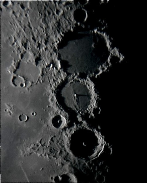 ptolemaeus, alphonsus and arzachel on the 6th of august 2007 at 23.37 ut