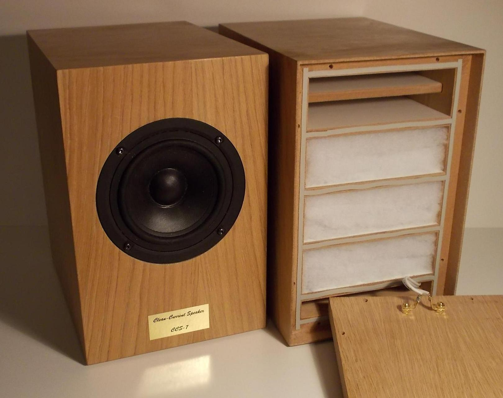 Clean Current Speaker Project Current Drive The Natural Way Of Loudspeaker Operation