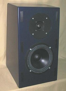 Photo of current-drive speaker project CS-12