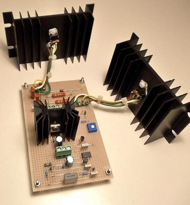 25 W Class-A transconductance project amplifier