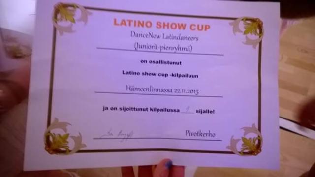 Latinoshow cup1. osakilpailu