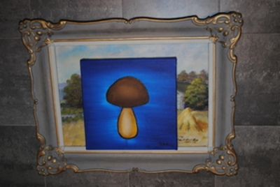 Mushroom paintings